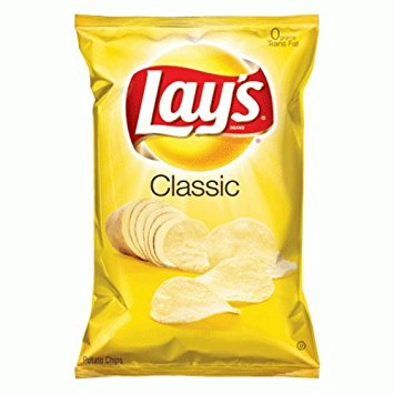Chips: Lay's Classic 1 oz