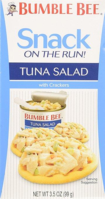 Bumble Bee Tuna Salad w/ Crackers