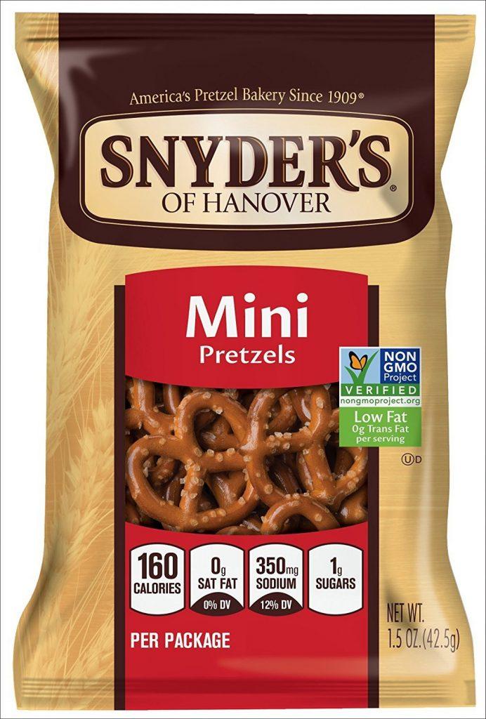 Chips: Snyder's of Hanover Mini Pretzels