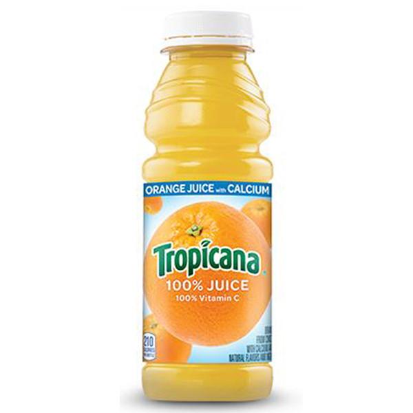 Tropicana Orange Juice, 15.2 oz bottle