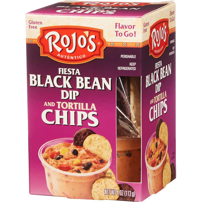 rojo's bean and chips